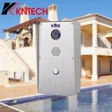 Телефон Рук-Свободно, франтовская система внутренней связи двери Kntech беспроволочный видео- квартиры автоматического звонока Knzd-47 телефона