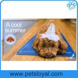 Stuoia di raffreddamento di vendita dell'animale domestico del rifornimento del rilievo del cane freddo caldo della base