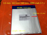 dual core de la batterie 3.7V 35113140, Gemei G6t, VI40 dual core, A11 Quarte-Faisceau, batterie 7000mAh Sgr241 de tablette PC
