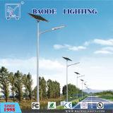 réverbère solaire en acier de 30/50/60/100W 10m Polonais LED (BDLed015)