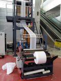 Máquina que sopla de la capa doble del ABA del PE de la película de la camiseta de compras de la película de alta velocidad del bolso