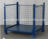 粉の上塗を施してあるHypacageの網パレット鋼鉄は容器をおりに入れる