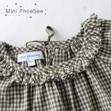 Ragazze del cotone di Phoebee che coprono il vestito dai bambini