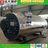 500-6000kg/Hディーゼル油の/Naturalのガス燃焼の蒸気ボイラ