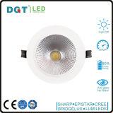Punto ahuecado Downlights 28W del dispositivo ligero LED del LED