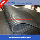Couvre-tapis de gamme de produits de vache à bas de cannelure de surface de marteau de 34 M
