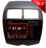 三菱Asx (HD1021)のためのAndriod Car GPS Navigation