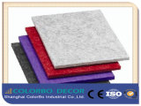 Eco-Friendly absorbente de sonido 100% poliéster Junta Acoustic