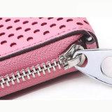 Pink Wallet Case PU Leather Fashion Custom Brand disponível Bolsa feminina Wzx1064