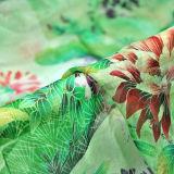 5.5m m Charmeuse de seda impreso reactivo para la tela de la ropa