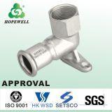 Sanitair Roestvrij staal 304 van het Loodgieterswerk van Inox van de hoogste Kwaliteit Elleboog van het Staal van de Montage van de Buis van 316 de Sanitaire Materialen
