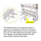 Medische Equipment voor voor Adjustable Hospital Children Bed (HK-N213)