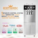 Machine élevée IP682s de crême glacée de capacité productive avec le système séparé