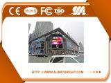 Visualización de LED al aire libre a todo color P8 para hacer publicidad