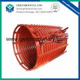 Tubo de cobre del molde para la planta de acería