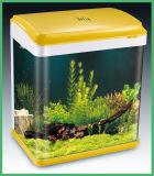 Réservoir en verre clair de vente chaud de pisciculture d'aquarium pour l'hôtel à la maison Decrative (HL-ATB12)
