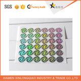 De ronde anti-Vervalst van de Druk van het Etiket anti-Valse Sticker van het Hologram van de Veiligheid