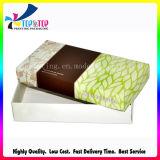 El rectángulo de la alta calidad con la tapa recicla el rectángulo de regalo de lujo de papel