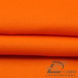 agua de 75D 240t y de la ropa de deportes tela punteada tejida chaqueta al aire libre Viento-Resistente 100% de la pongis del poliester del telar jacquar abajo (E119A)