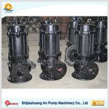 Pompe centrifuge submersible d'eaux usées d'évacuation encrassée de l'eau