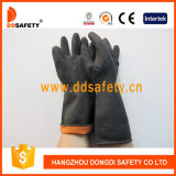 Ddsafety 2017 Black Latex Industry Work Gloves Pasted Ce