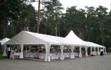 Span libero Party Tent per Events con 6X6m Entrance Canopy
