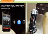 El hablar sin manos del MP3 FM del transmisor de Bluetooth del coche del soporte sin hilos portable del kit y tarjeta del TF (FM28B)