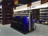 Cremalheira de indicador do supermercado para a loja