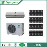 0.75 climatiseur 100% solaire fixé au mur de tonne 2 à tonne DC48V