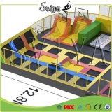 Berufsgymnastischer Sprung-Knalldunk-Trampoline-Park-Innenerbauer