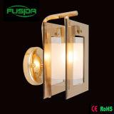 Lampe de mur en verre populaire de la Russie/éclairage pour la chambre à coucher