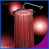 Cabeça de chuveiro de bronze quente do diodo emissor de luz do círculo de venda de Fyeer (QH326AF)