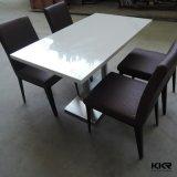 Kingkonree Custom Modern Round Solid Surface Hot Pot Table