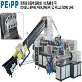 PE PP рециркулируя линию Pelletizing пластмассы
