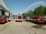 Parte anteriore Sale del camion dei vigili del fuoco di Sinotruk 6000L Water Tanker