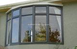 Puertas de aluminio superiores fijas curvadas aduana y precios de Windows