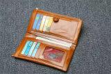 Caselle Bifold del raccoglitore della borsa della moneta della frizione del supporto della carta di credito di identificazione del cuoio del Faux degli uomini