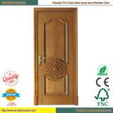 China PVC-Tür Pintu PVC-Tür-Toilette PVC-Tür