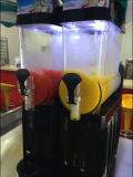Eis-Schlamm-Maschinen-/Margarita-Maschine mit 2 Filterglocken (15L*2)
