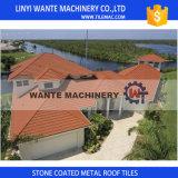 Gewölbtes Aluminiumstein-überzogene Metallrömische Dach-/-dach-Blatt-Fliesen