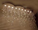 Phine K9の水晶装飾の大きい現代天井灯
