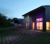 Chuveiro decorativo do laser das luzes da projeção ao ar livre nova no jardim