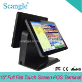 "Elegante 15 ""Full Screen plana toque de All in One Terminal POS"
