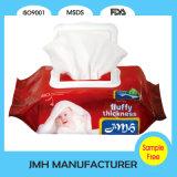 Wipes orgânicos puros do bebê sem a fragrância (BW138)