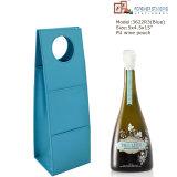 De groene Zak van de Wijn van de Gift van het Leer van Pu (3622)