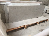 Kitchen、Bathroomのための川Water White Granite Stone Countertops