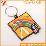 PVC suave Keychain (YB-LY-PK-01) de la venta del diseño caliente de la manera