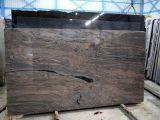 Плитка гранита Juparana каменного настила вымощая сляба Wholeslae индийская