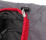 Im Freien kampierender Schlafsack