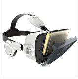 iPhone Samsung LG del rectángulo de 3D Vr, video de los vidrios del soporte y otros teléfonos elegantes con el auricular para las películas 3D y los juegos